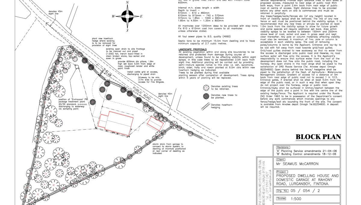 Rahoney Road Block Plan