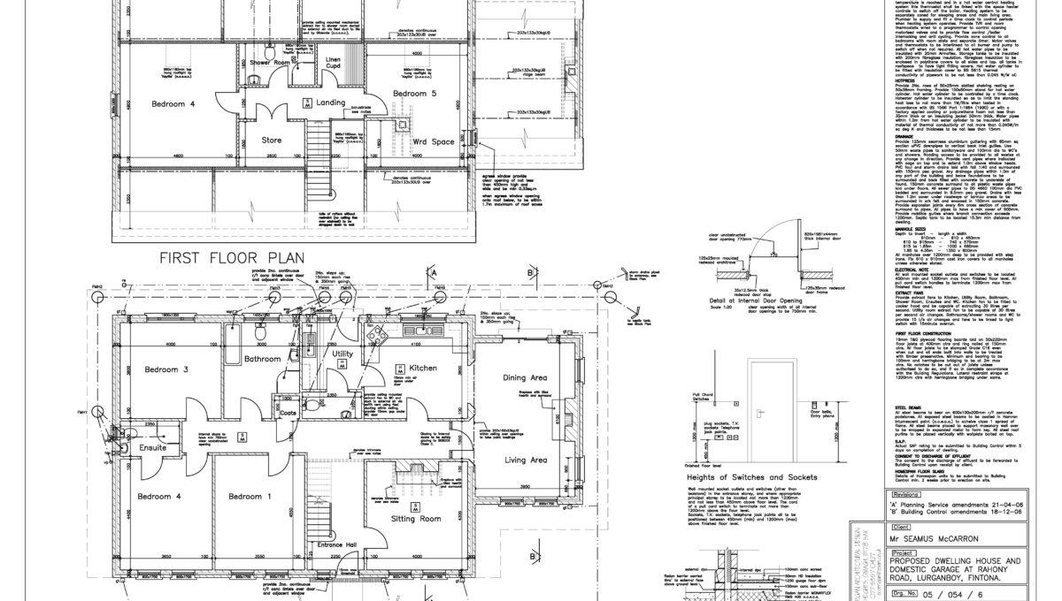 Rahoney Road Floor Plans