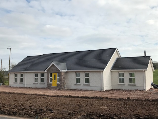 4 Bedroom New Build Bungalow – Tattymoyle Road, Fintona