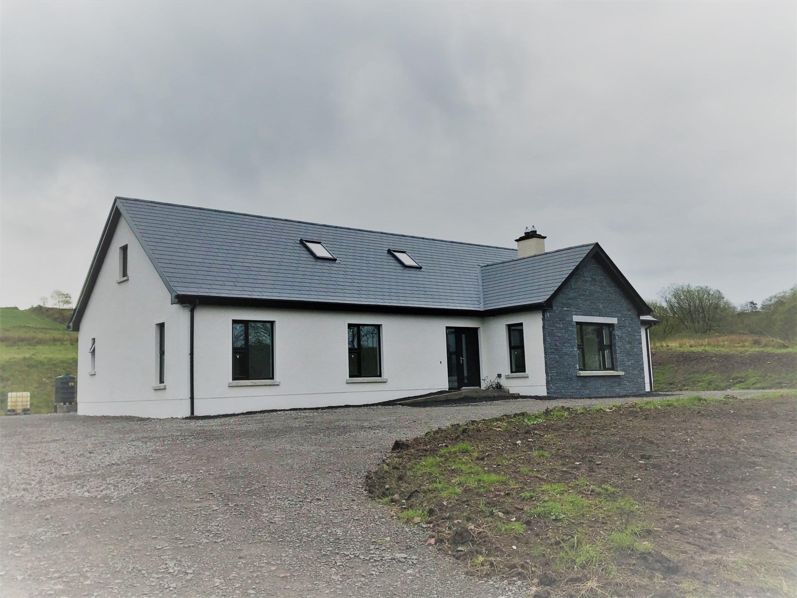 4 Bedroom New Build Bungalow – 24, Glengeen Road, Trillick