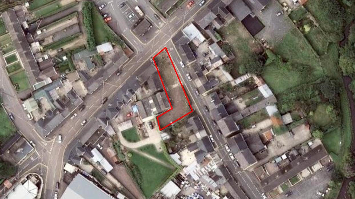 Development Land w/FPP – 128 Main Street/King Street, Fintona